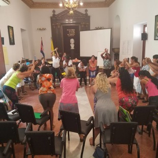 Havana Teacher Training Workshop: Felix Varela Catholic Cultural Center